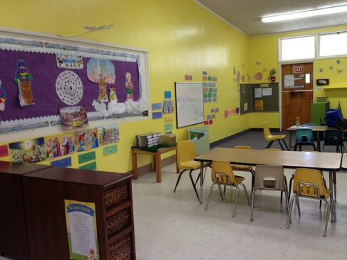 The Sunday School room for 1st/2nd grade