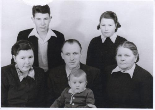 Latvian Family 1950